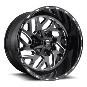 TRITON 20X12 BLK AND MILLED A1 3001